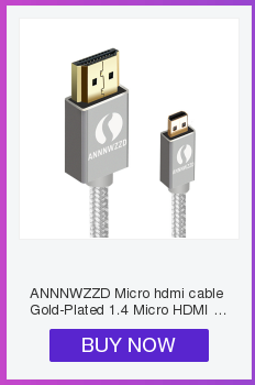 Micro HDMI to HDMI Cable 1M 2m 3m 5m 3D 4K Male-Male High Premium Gold-plated HDMI Adapter for Tablet HDTV Camera PC