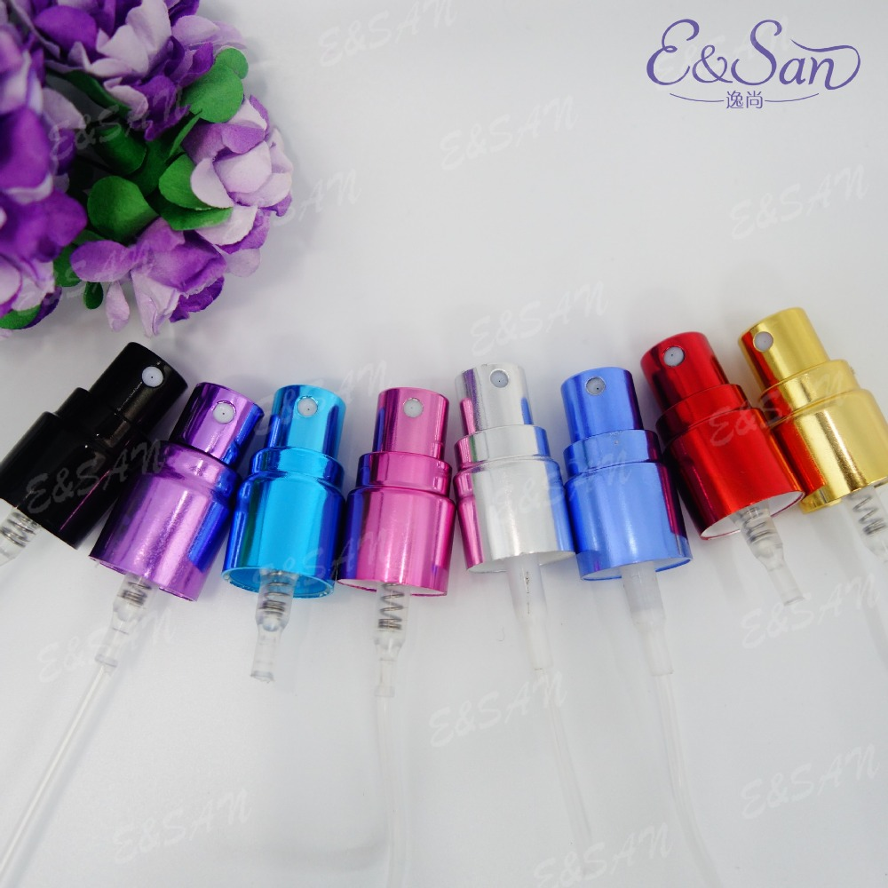 PA13-13MM Screw Mouth of the Aluminum Spray Metal Perfume Bottle Cosmetics Accessories 100PCS/LOT