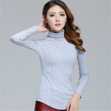 Merry Pretty Plus Size Turtleneck Sweater New Turtleneck Knit Tops Sweater White Authentic Basic Top Pullover Drop Shipping