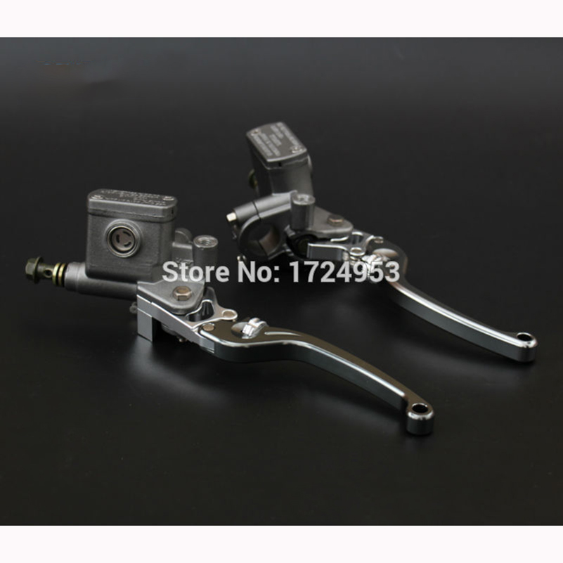 Alloy Left and right Brake Pump brake master cylinder pump Fit Dirt Pit Bike ATV Quad scooter Off Road Motorcycle Free shipping электрический духовой шкаф darina 1u8 bde111 705 at