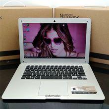 Windows10 14 inch 4G RAM 64G ROM In-tel Atom X5-Z8300 HDMI WIFI System Laptop with 10000mAh Battery bluetooth