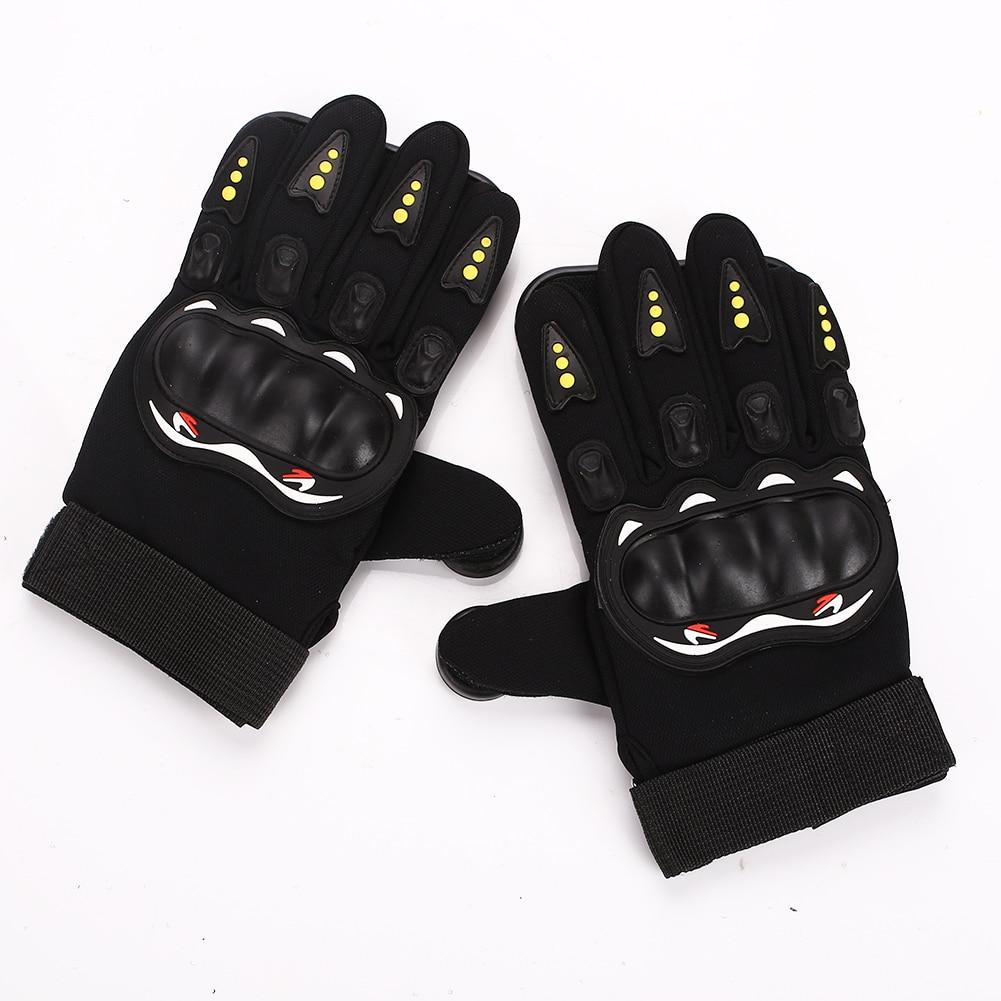 Скейтборд Перчатки слайдер перчатки Черный Красный 3 POM носимые длинные защитные перчатки Экипировка Нескользящая износостойкая защита рук - Цвет: black