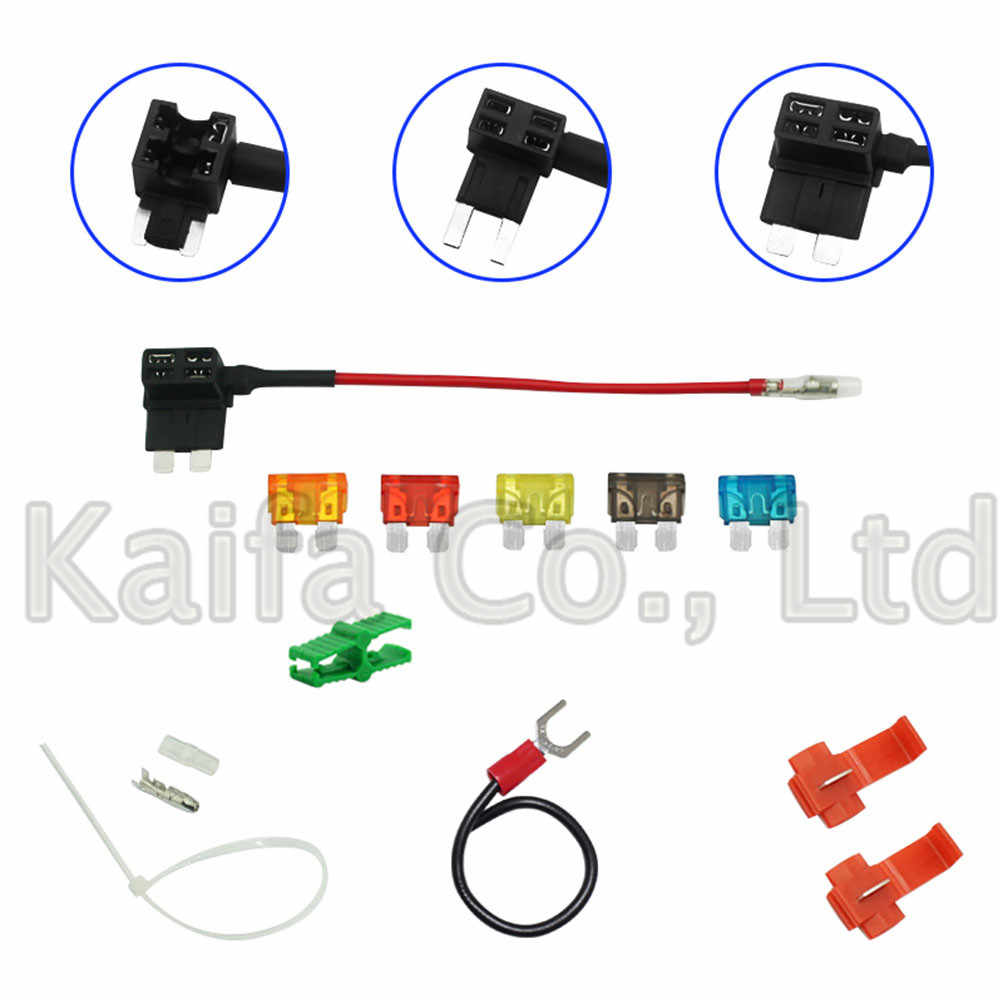 fuse holder car fuse take car fuse box take electrical appliances nondestructive insurance insert mini small [ 1000 x 1000 Pixel ]