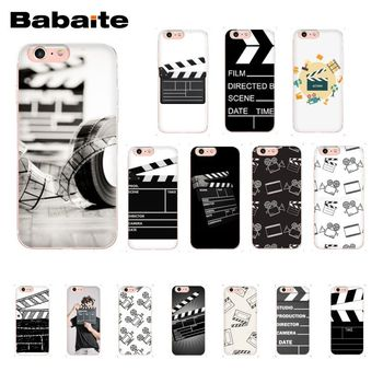 Babaite Film Movie Clapperboard Clapper Board Quality Phone Case for iPhone X XS MAX  6 6s 7 7plus 8 8Plus 5 5S SE XR 10 telephony