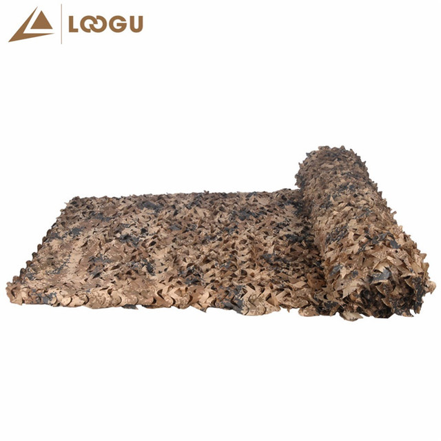 6M*6M Military Filet Camouflage Netting Outdoor Hunting Camping Hiking Sun Shelter Tents Military Filet Camouflage Net Car Tents