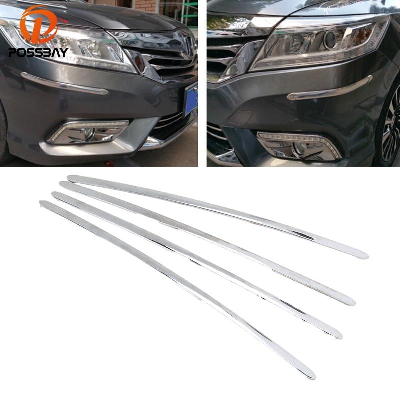 Possbay 4x Universal Car Auto Bumper Corner Protector Lip