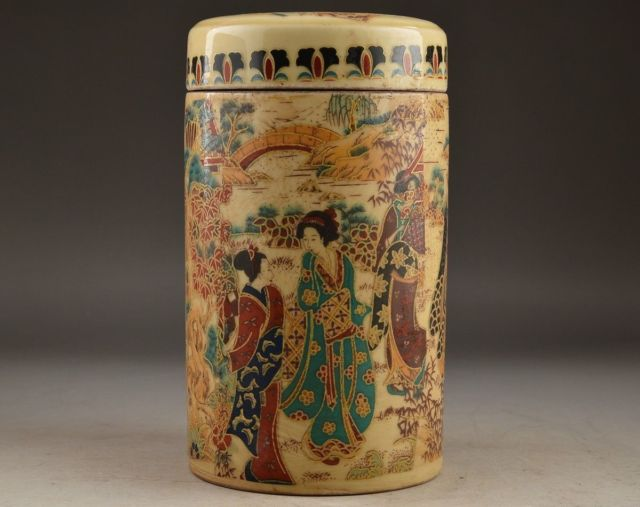 6.0 Asian Porcelain Chinese Handwork Olds