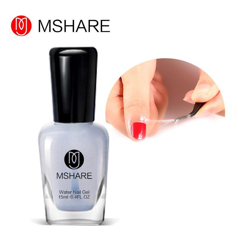 MSHARE 15ML Skin Protected Peel-Off Nail Polish Anti Overflow Glue Salon Repair Lubricating Grease Finger Liquid Tape