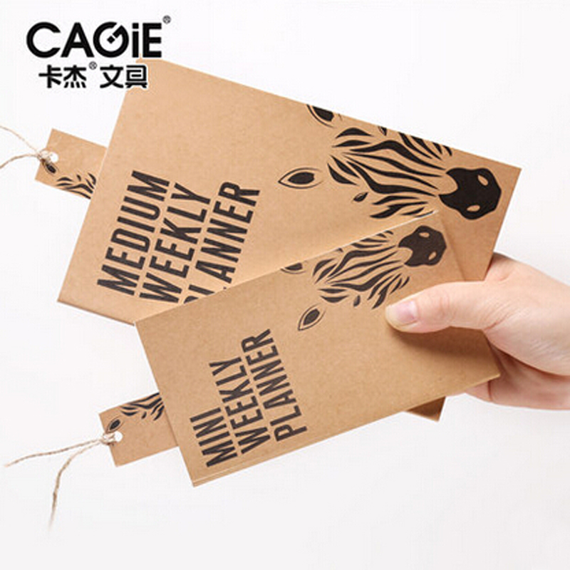 cagie 2016 vintage mini pocket notepad business office weekly