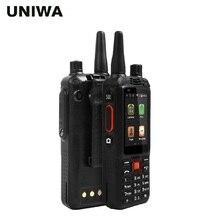 UNIWA Alps F22 + смартфон 2,4 «сенсорный экран двухканальные рации Android мобильный телефон 5MP 2 MPCamera Dual SIM карты с мощной батареей телефон