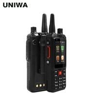 UNIWA Alps F22+ Smartphone 2.4 Touch Screen Walkie Talkie Android Mobile Phone 5MP+2MPCamera Dual SIM Card Strong Battery Phone