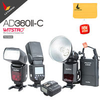 Новейший Godox AD 360 AD360II C 360 Вт фотовспышка Speedlite + PB960black аккумулятор + X1C ttl передатчик для Canon + Godox TT685C Speedlite