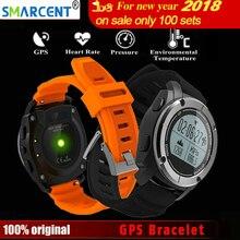 Купить Smarcent S928 GPS Smart Band Bluetooth браслет Heart Rate высота гонка монитор Скорость открытый Фитнес трекер работает часы