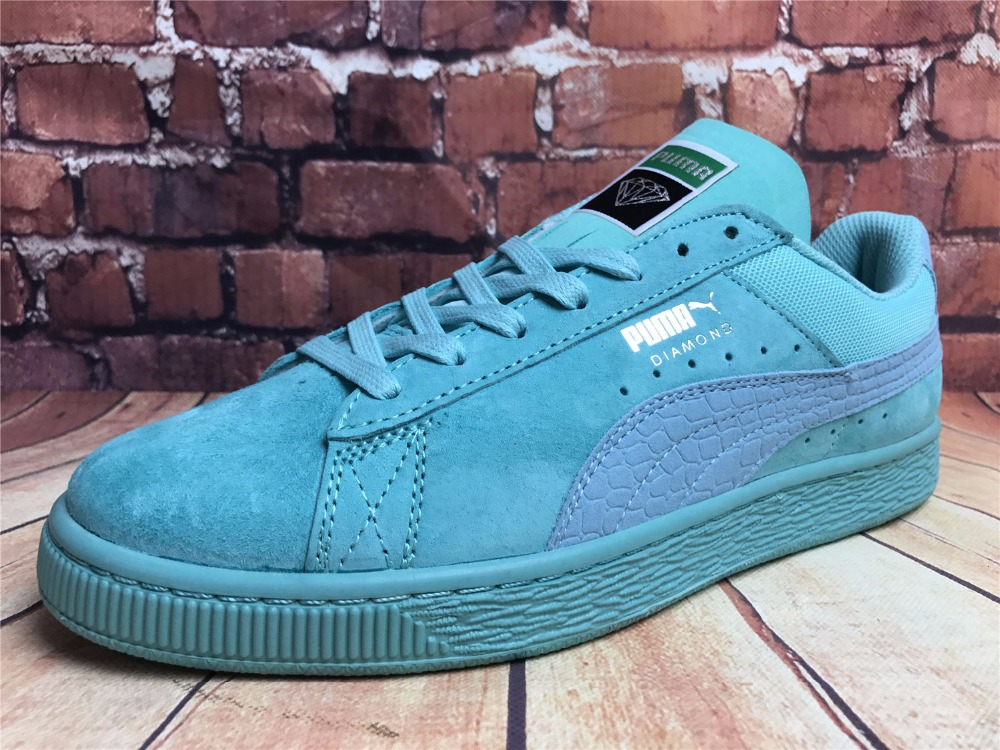 2018Original PUMA x DIAMOND Suede Men's Sneakers Women's Training Shoes Sneakers Badminton Shoes Size36-44
