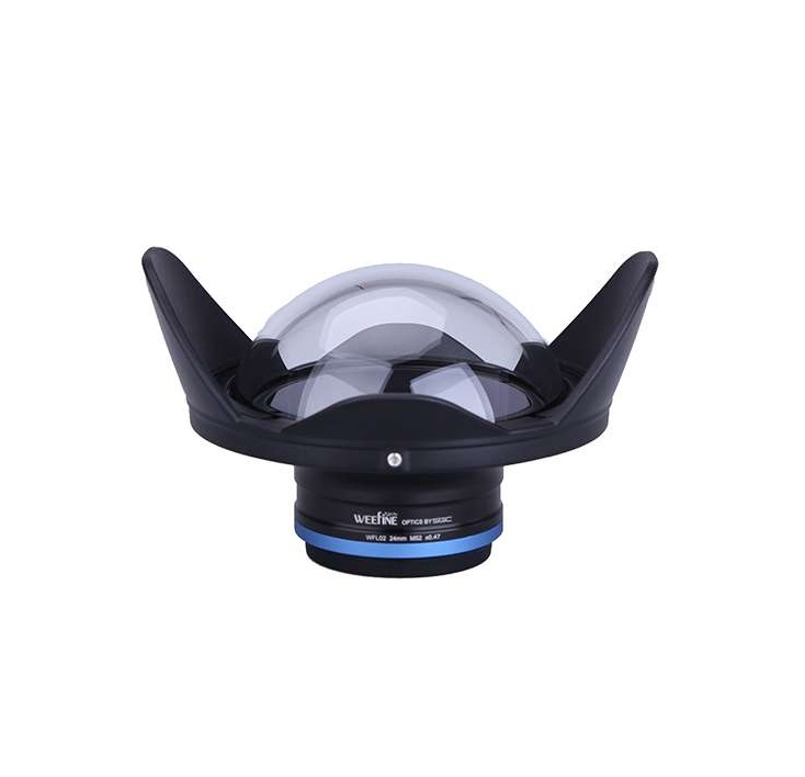 Divng M52 52mm Weefine WFL02 Wide Angle Lens Dome Port Fisheye For olympus TG 5 TG5