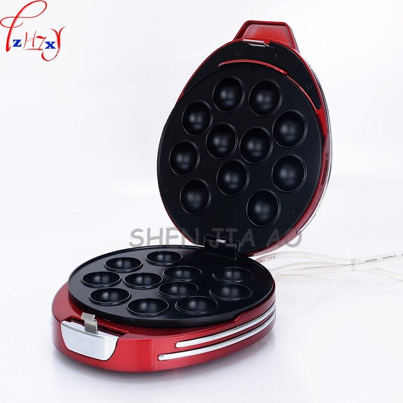 Ev Aletleri'ten Waffle Makineleri'de Aile Mini Lolipop Kek Makinesi DIY Küresel Kek Makinesi Ahtapot Küçük çanta makinesi Mutfak Ev Aletleri 220 V 750 W 1 pc title=