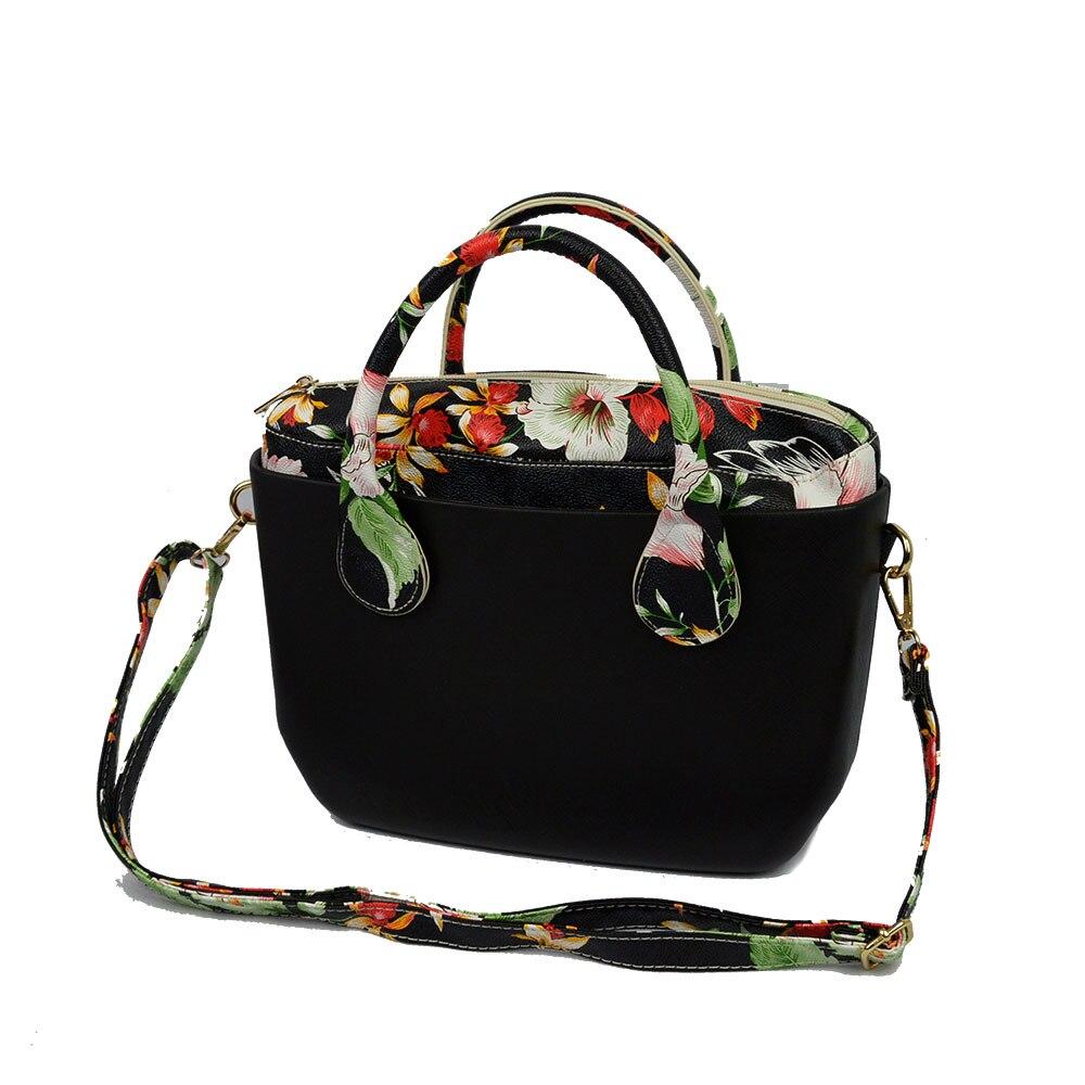 Nouveau sac coloré de style O sac EVA grand sac en forme de V avec Insert étanche poignées intérieures et en cuir sac de mode Obag femmes