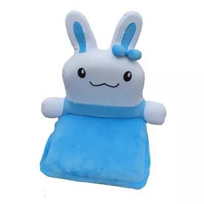 2016 Baby Rug Children Fleece Soft Touch Blanket Bed Baby Seats & children chairs sofa for kids Rabbit Children Sofa Kids Chair high quality 100% combed cotton bed blanket full queen solid color one piece kids children adult warm soft sofa throw blanket