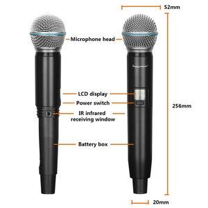 Image 3 - Nouveau système de Microphone sans fil professionnel de haute qualité