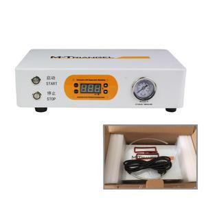 Image 4 - Płaski ekran LCD maszyna do usuwania pęcherzyków powietrza maszyna do wysokiego ciśnienia naprawy LCD 220V/110V 7 cal ekranu należy zewnętrznej pompy M Triangel M1