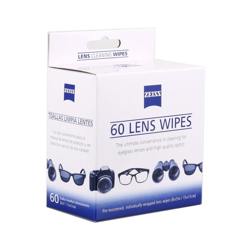 b528e665ec7d0 Lentes Carl Zeiss Lente Anti Fog tecido Toalhetes de Limpeza de limpeza Da  lente da Câmera (pack of 60)