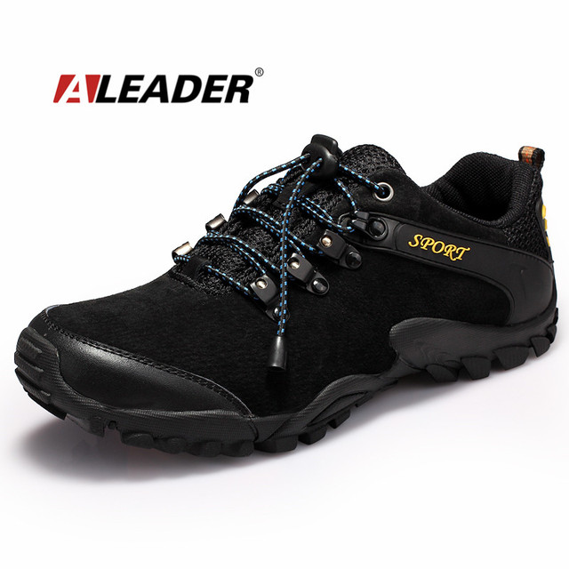 Fashion Suede Outdoor Hiking Shoes for Men For sale online free shipping 2014 newest ihtKQa4X