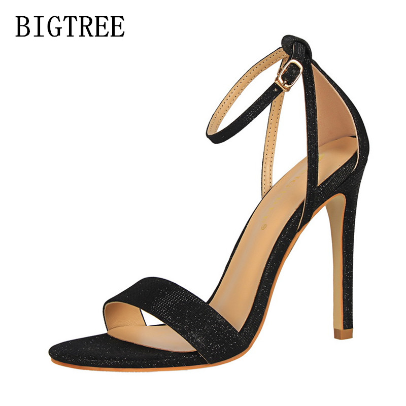 summer shoes fetish high heels sandals women shoes zapatos mujer peep toe ladies sandals designer luxury brand bigtree shoes summer new brand patent leather cachottiere 100mm women sandals fretwork peep toe high heels shoes woman pumps zapatos mujer