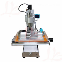 1500W spindle pillar type 4 Axis mini cnc milling machine 3040 PCB drilling metal engraving cutter machine