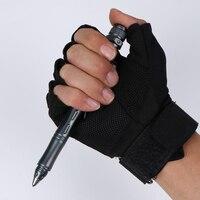 Светодиодный стробоскоп перезаряжаемая тактическая ручка многофункциональные самозащитные ручки противоскользящие принадлежности для в...