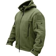 Военная флисовая тактическая куртка для мужчин, термоуличная, Polartec, теплое пальто с капюшоном, Militar Softshell, походная верхняя одежда, армейские куртки