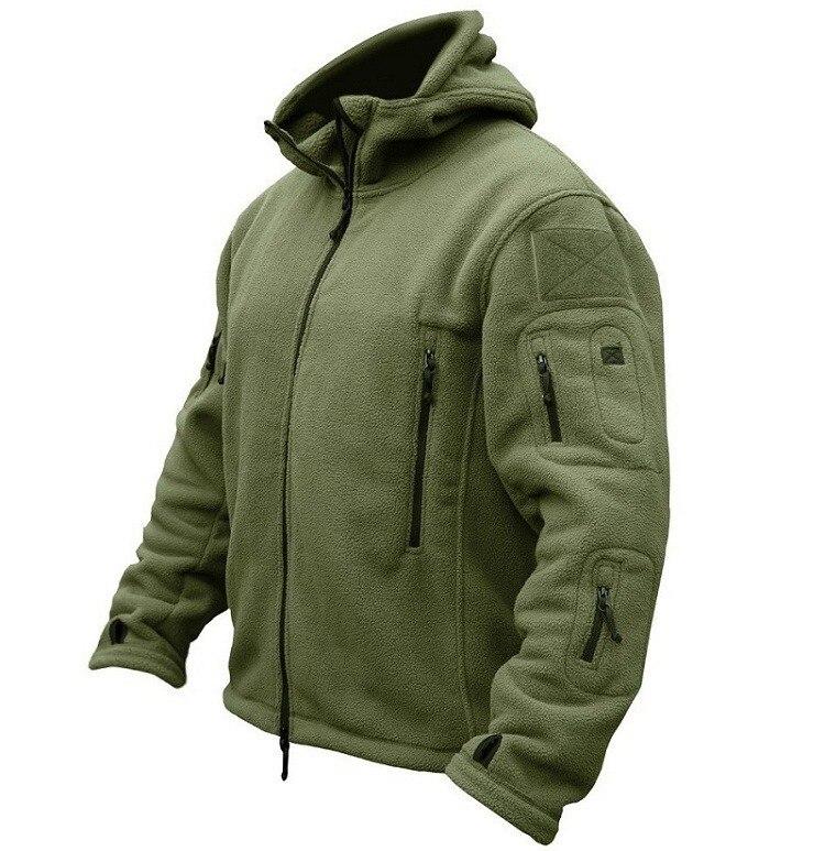 Eua militar velo tático jaqueta masculina térmica ao ar livre polartec quente casaco com capuz militar softshell caminhadas outerwear jaquetas do exército