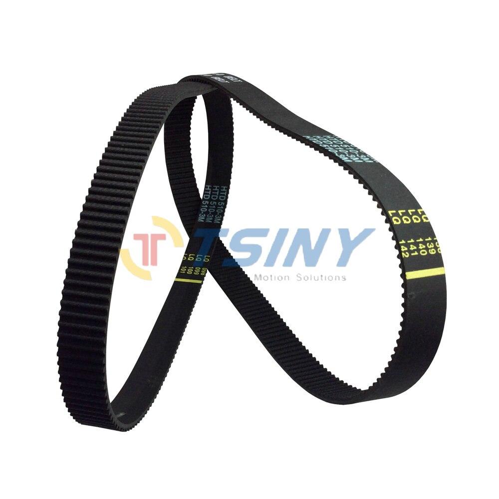 ⊰3 M HTD diente del arco cinturón 3M-510-15 circuito cerrado ...