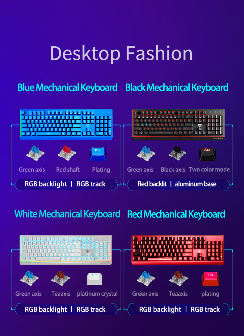 Machenike mechanical keyboard eSports