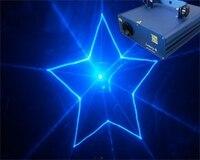 1000 mW 473nm azul animação laser luz DMX DJ disco party stage iluminação mostrar