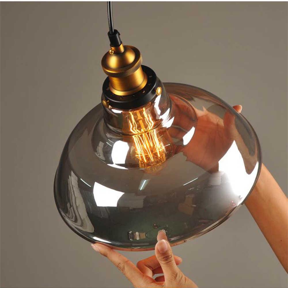 Glass Chandelier Lights Modern Glass Vintage lighting Denmark Ceiling Nordic Lamp Loft Decor Lamparas de Techo Colgante Moderna