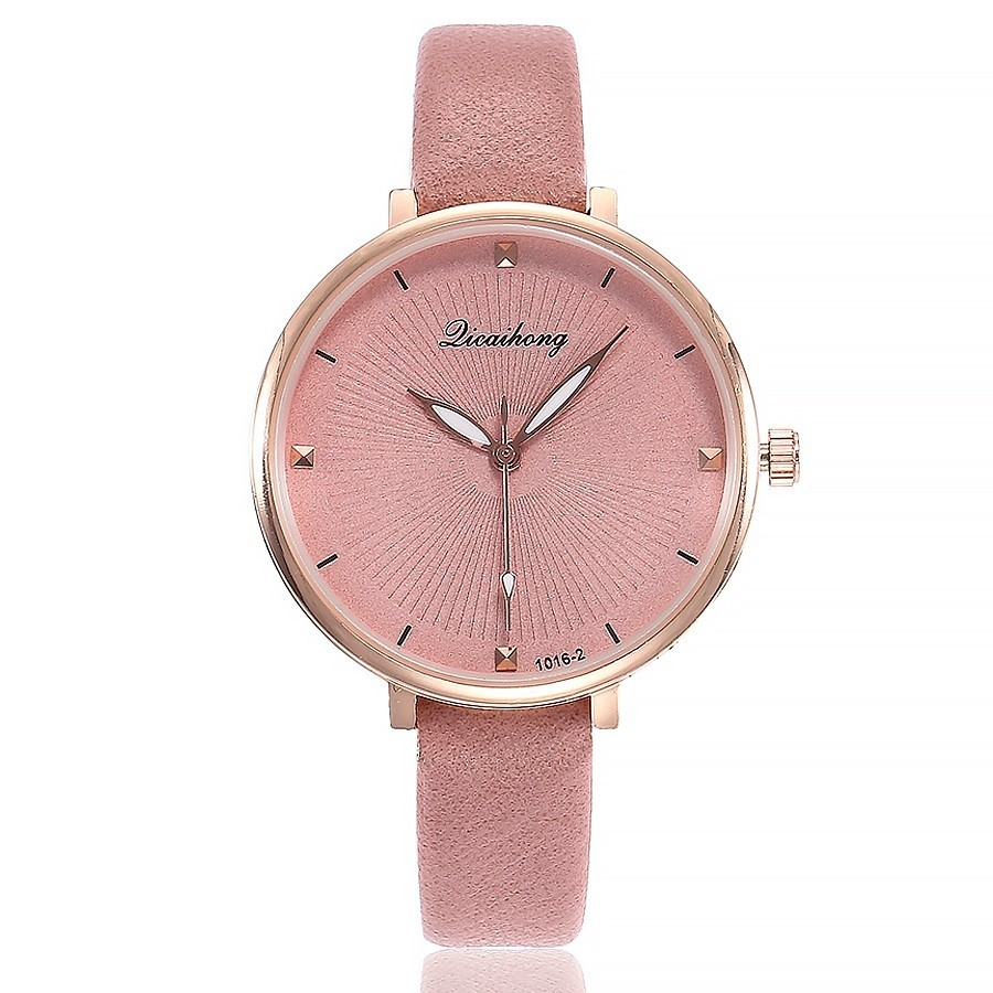 Dropshipping Women Simple Dial Quartz Wristwatches Fashion Casual Luxury Womens Dress Watches Relogio Feminino Hot Sale