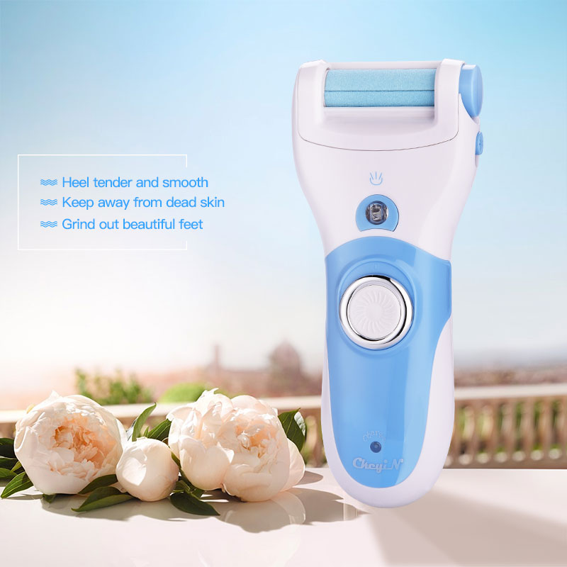 Professional Foot Callus Remover Rechargeable Pedicure Callus Peeling Machine Electric Foot File Dead Skin Remove Heel Roller 31