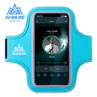 AONIJIE Water Resistant Cell Mobile Phone Sports Running Armband Arm Bag Jogging Case Holder Cover For Fitness Gym Workout A896