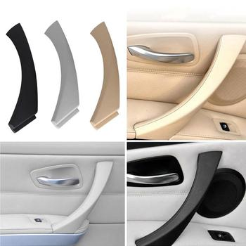 VODOOL Car Interior Door Handles Left Side Inner Door knob Panel Handle Pull Trim Cover for BMW E90 E91 3 Series image