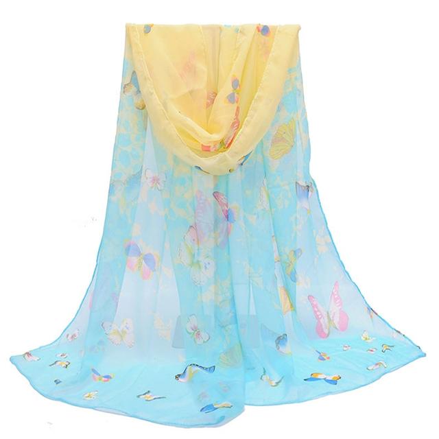Super Polyester Chiffon Korean Decorative Women Scarves