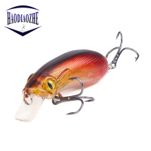 Купить с кэшбэком Insect Crankbait Fishing Lures 5cm 6.5g Hard Artificial Bait Swimbait Carp Bass Wobblers Japan Pike Fake Pesca Fishing Tackle