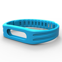 Mijobs Anti-lost Colorful Silicone Strap Replacement Wristband for Xiaomi Mi Band 1/1S Bracelet Band Accessories