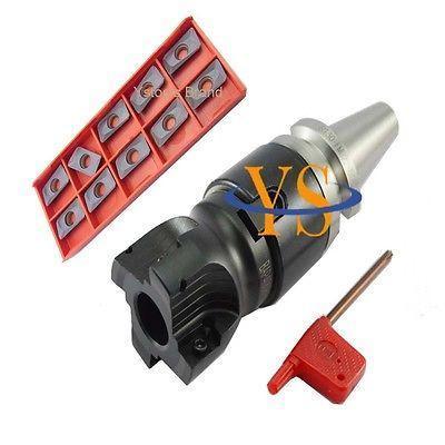 BT30-400R 50-22 Face Milling Cutter &10pc APMT1604 -US precision m16 bt40 400r 63 22 face endmill and 10pcs apmt1604 carbide insert new