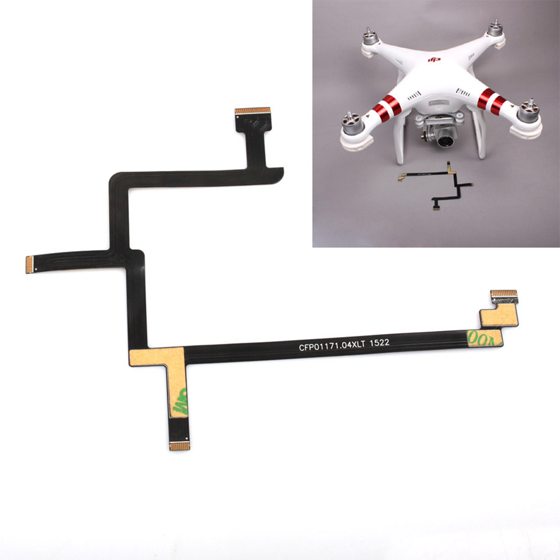 Gimbal Camera Flex Ribbon Cable Parts For DJI Phantom 3 Standard DIY Drone Flight UAV Parts For Phantom