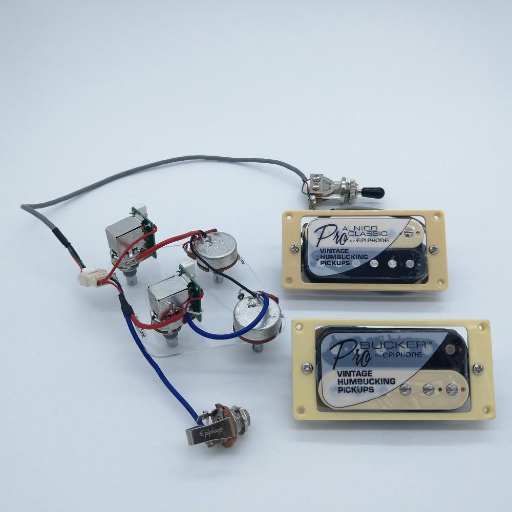 1 Full Set LP SG Electric Guitar Pickup Wiring Harness ...