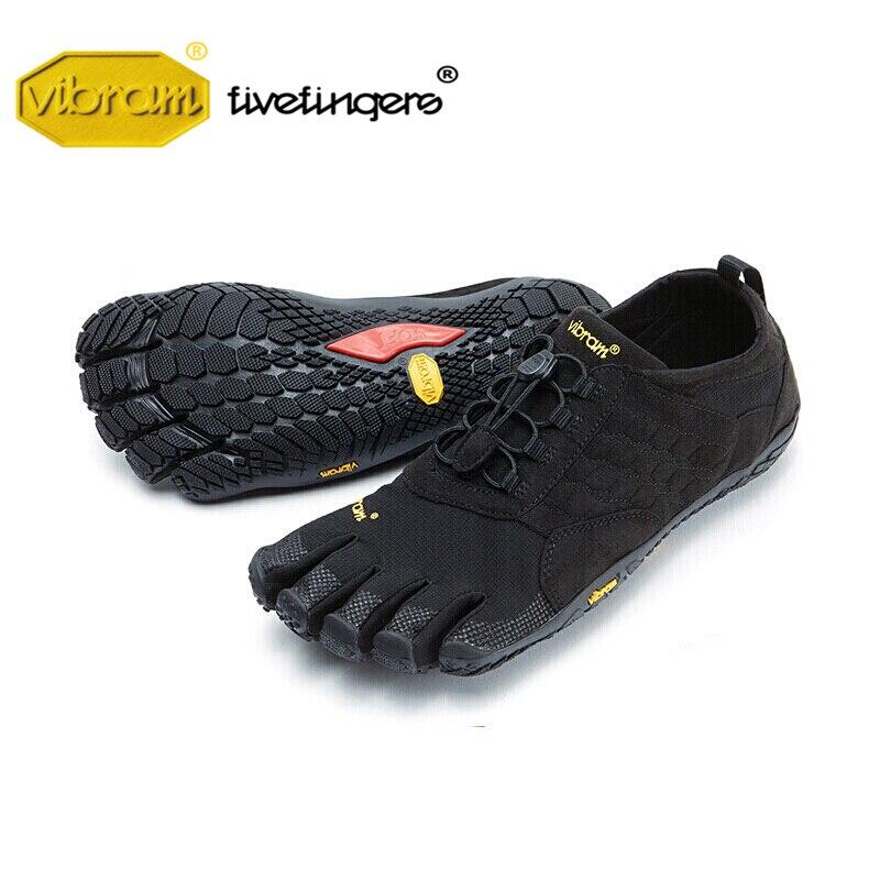 65d3e686a1e9f7 Vibram Fivefingers Caminhada Subida dos homens Cinco dedos Duplas Sapatos  de calor Não-slip andando