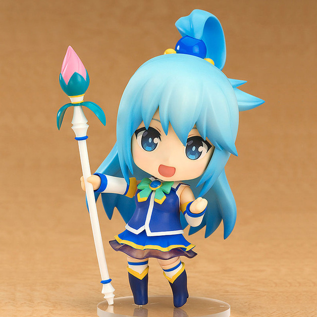 KonoSuba: God's Blessing on this Wonderful world! Aqua Q ver. 630#  Nendoroid Action Figure Collectible Model Toy 10cm 2
