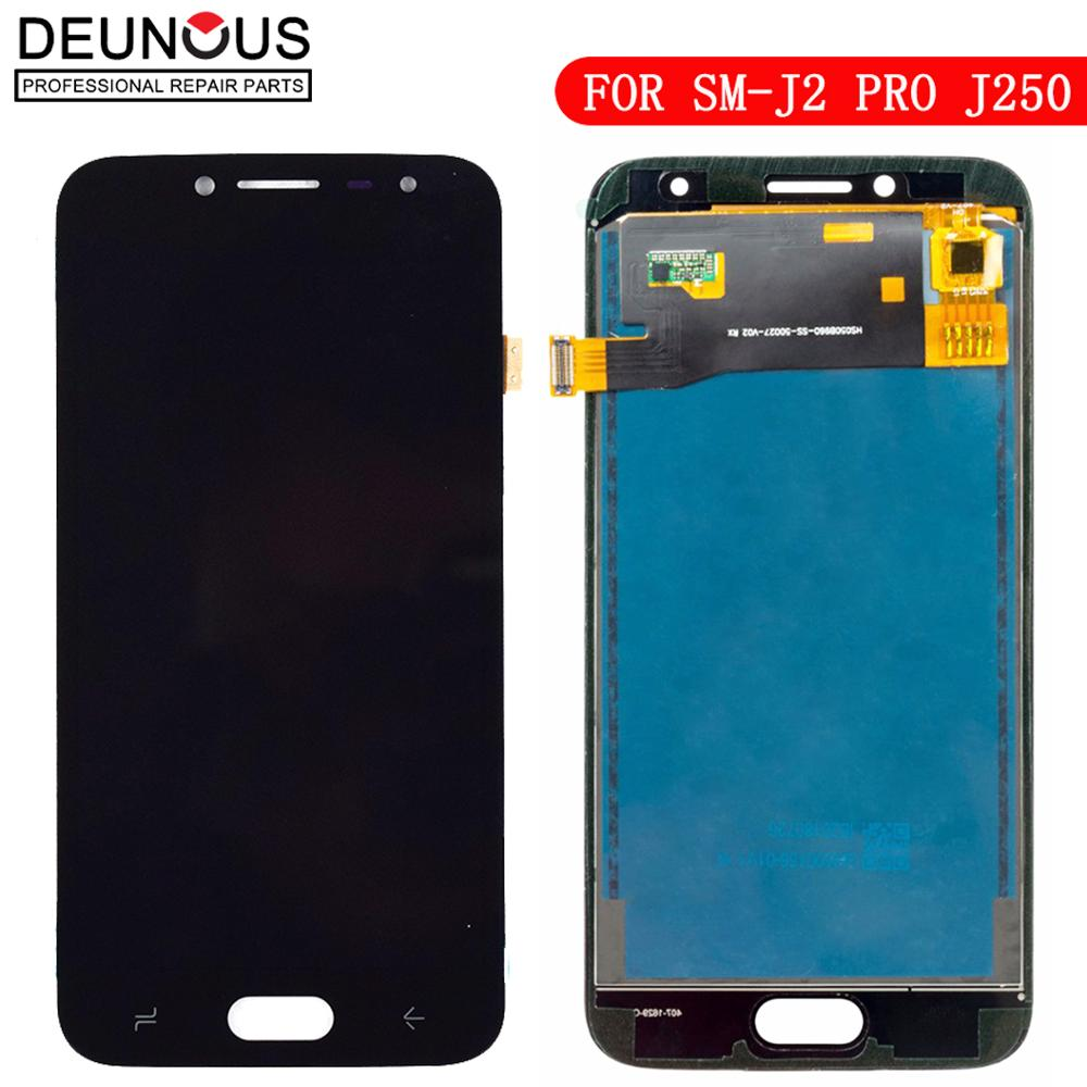 Für Samsung Galaxy <font><b>J2</b></font> Pro <font><b>2018</b></font> LCD J250 J250F/DS <font><b>Display</b></font> Touchscreen Digitizer Ersatz für Samsung <font><b>J2</b></font> <font><b>2018</b></font> lcd J250 <font><b>Display</b></font> image