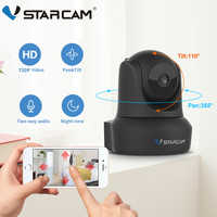 Vstarcam Indoor HD WiFi Video Surveillance Monitoring Security Wireless IP Camera with Two Way Audio IR Night Vision Pan Tilt