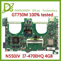 N550jv Laptop Motherboard For ASUS N550jv With I7 CPU
